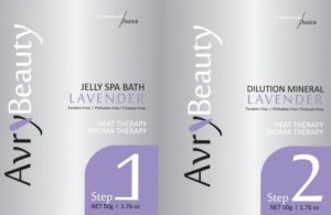 Jelly Pedicure Packets AvryBeauty Lavender