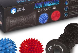 Simple Spectra Foot Massager Roller & Spiky Ball Therapy Set Featured Image
