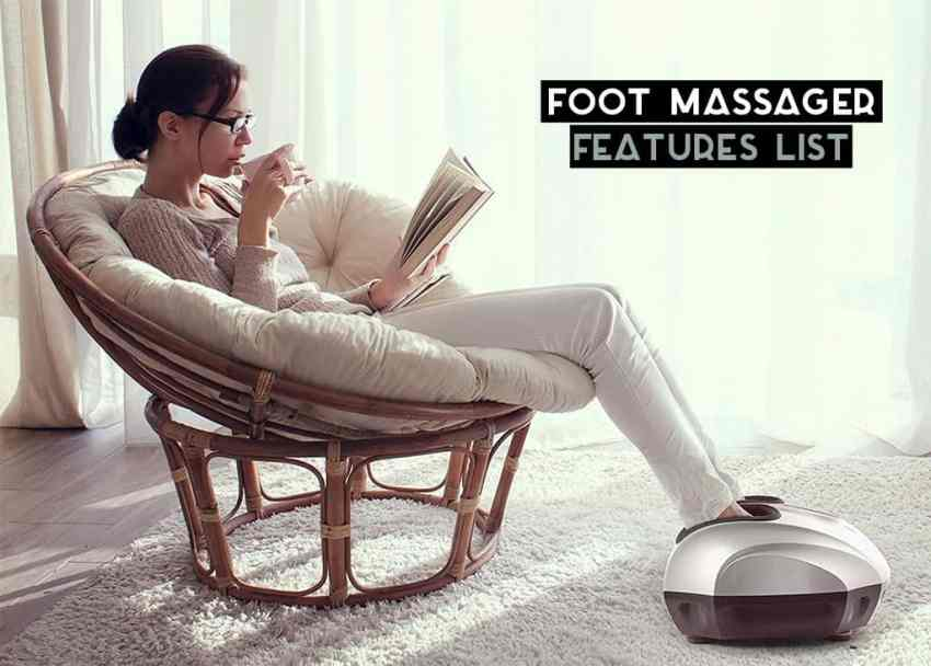 Foot Massager Features List