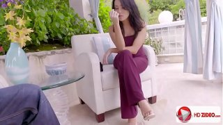 Hottest Girl Ever Megan Rain Getting Her Feet Worshipped And It Seems Legit