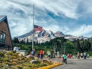 Что делать в Сиэтле, день 3: гора Рейнир и ресторан AQUA by El Gaucho