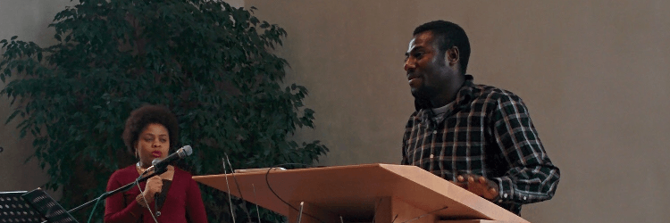 Peter Elaigu, Predigt am 10.04.2016, übersetzt von Glory Ndimelé