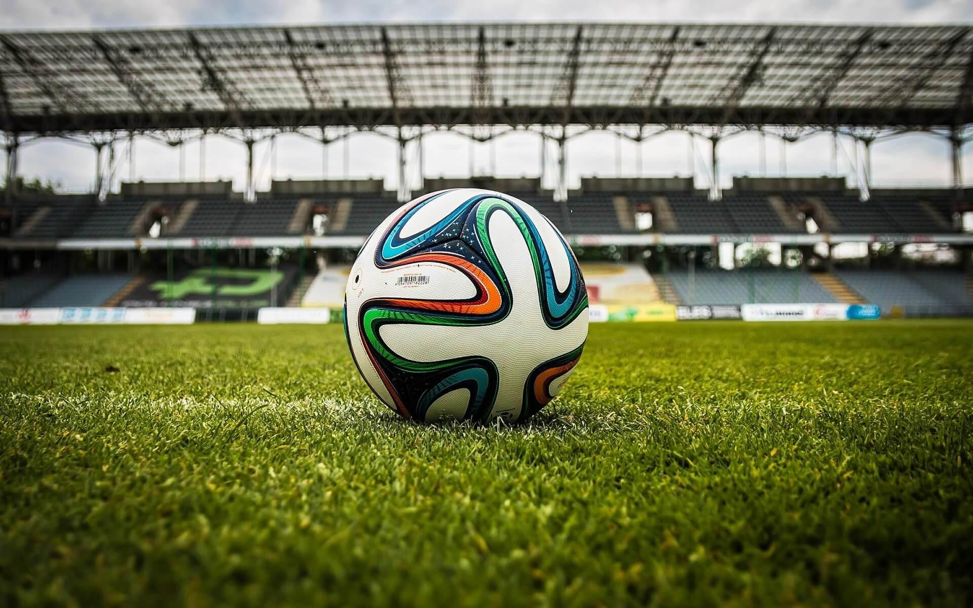 Fussball im Stadion