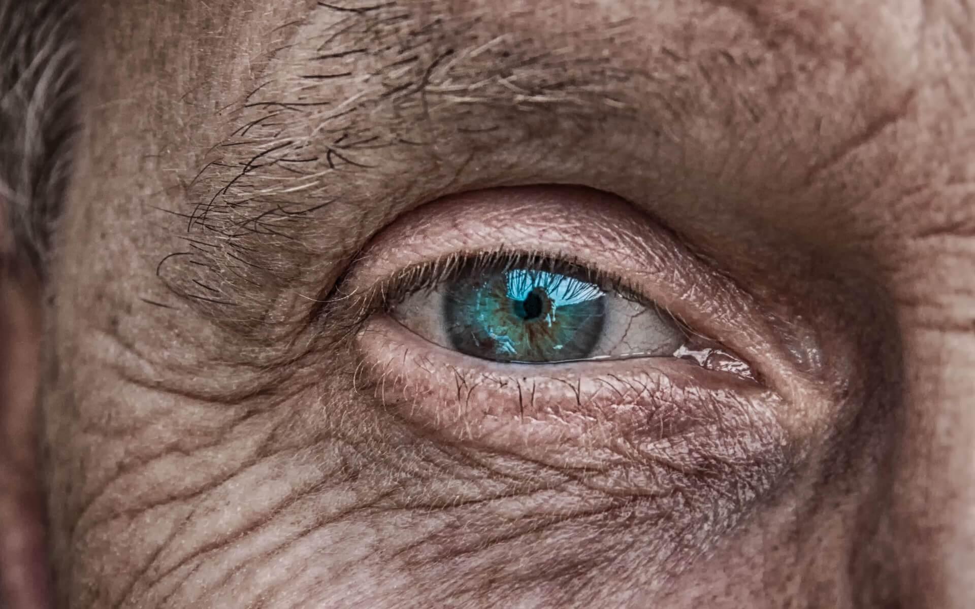 Symbolbild Charakter, Nahaufnahme Auge