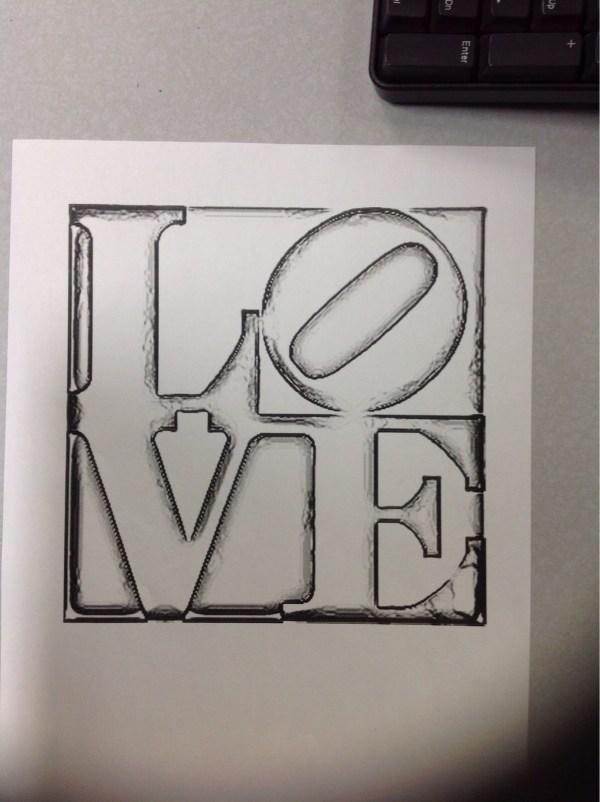 Robert Indianas Love Fegely Hart39s Art