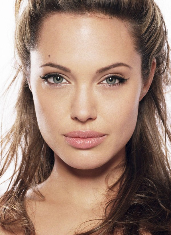 Angelina Jolie Closeup