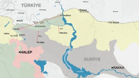 40. gününde Fırat Kalkanı Operasyonu (El-Cezire'den alındı)