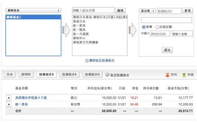 我的基金平臺 - 遠東商銀基金理財網Demo