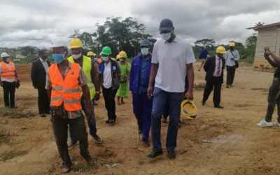 PCCM: suivi des travaux des cités municipales de Djoum et Mengong
