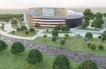 Conception architecturale du projet de l'Hotel de Région de l'Extrême Nord