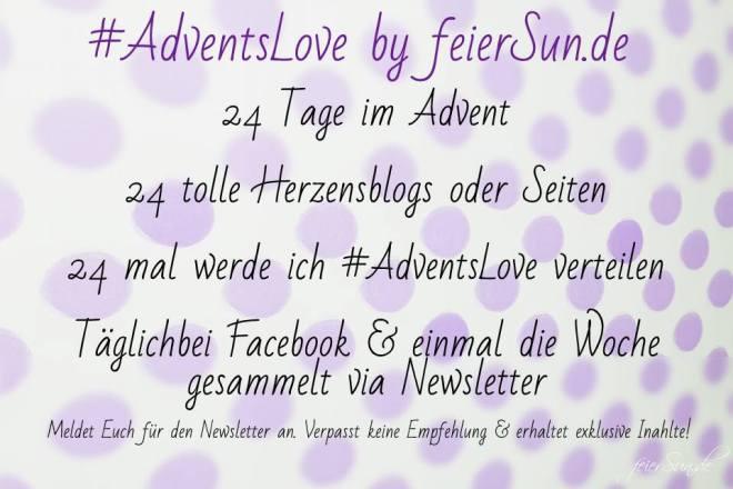 #AdventsLove by feierSun.de