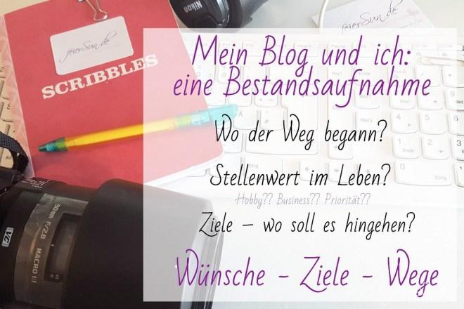 Mein Blog und ich - eine Bestandsaufnahme