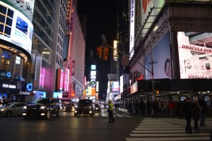 New York 42nd Street Nightlife | Vancouver Full Service Digital Agency | Feifei Digital Ltd 2019