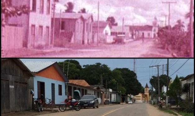 Fotos de Feijó, antes e depois