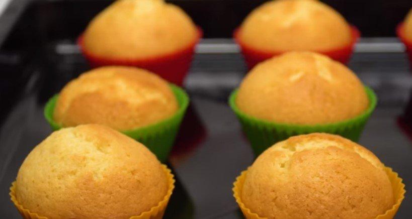 Мягкие и очень вкусные лимонные кексы