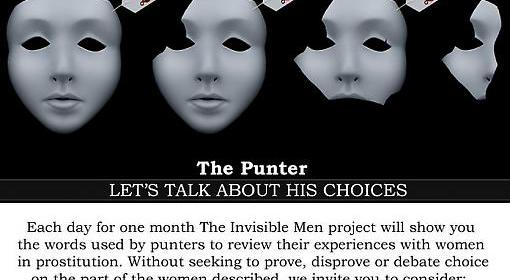feminism, sex work - the invisible men project