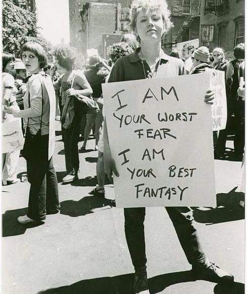 #anonymouswasawoman: #HERstory: I am your worst fear
