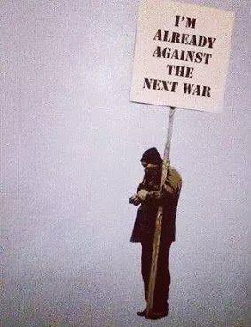 #picturethis: anti-war graffiti