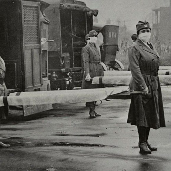 #anonymouswasawoman: How the devastating 1918 flu pandemic helped advance US women's rights – @ConversationUK