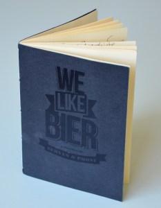 We like Bier Degustationsheft