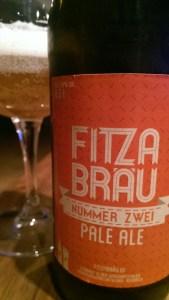 Pale Ale Nummer Zwei von Fitza Bräu