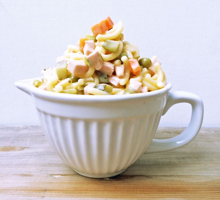 Retro! Der beste Nudelsalat Feinschmeckerle Style