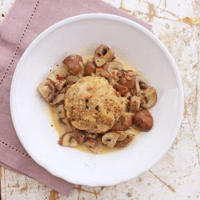 Cremige Pilzpfanne mit Champignons