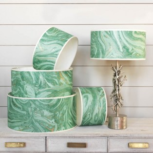 Makrana emerald shades from £35.00 - Graham & Green