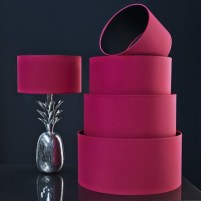 Graham & Green Hot Pink and Black cotton shades, from £42.00