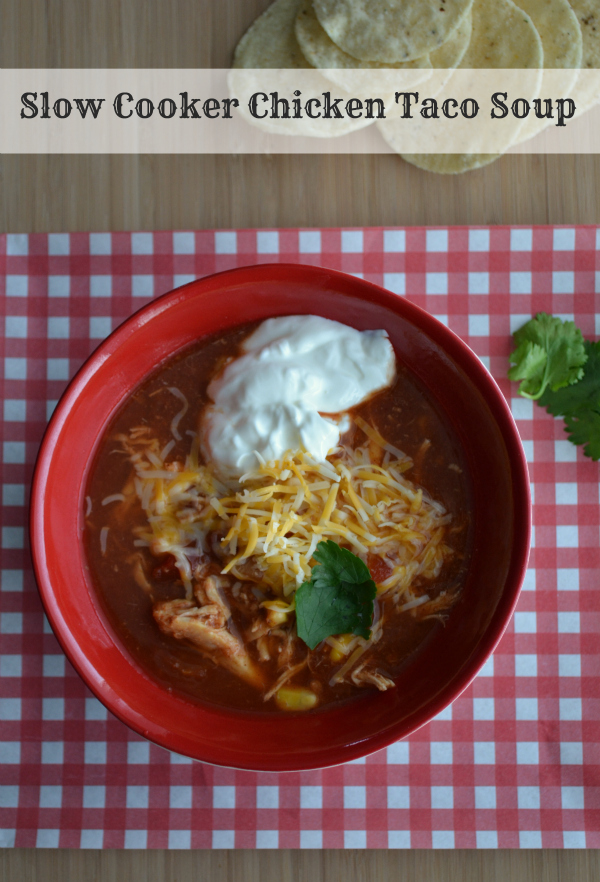 Slow Cooker Chicken Taco Soup – Feisty Frugal & Fabulous