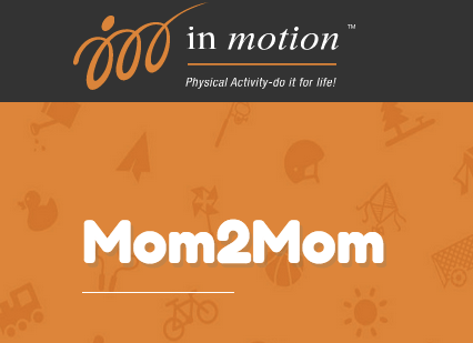 saskatchewan in motion mom2mom logo