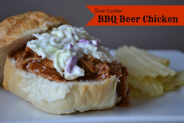 slow cooker bbq beer chicken