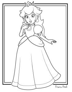 Mario_Coloring_024_peach