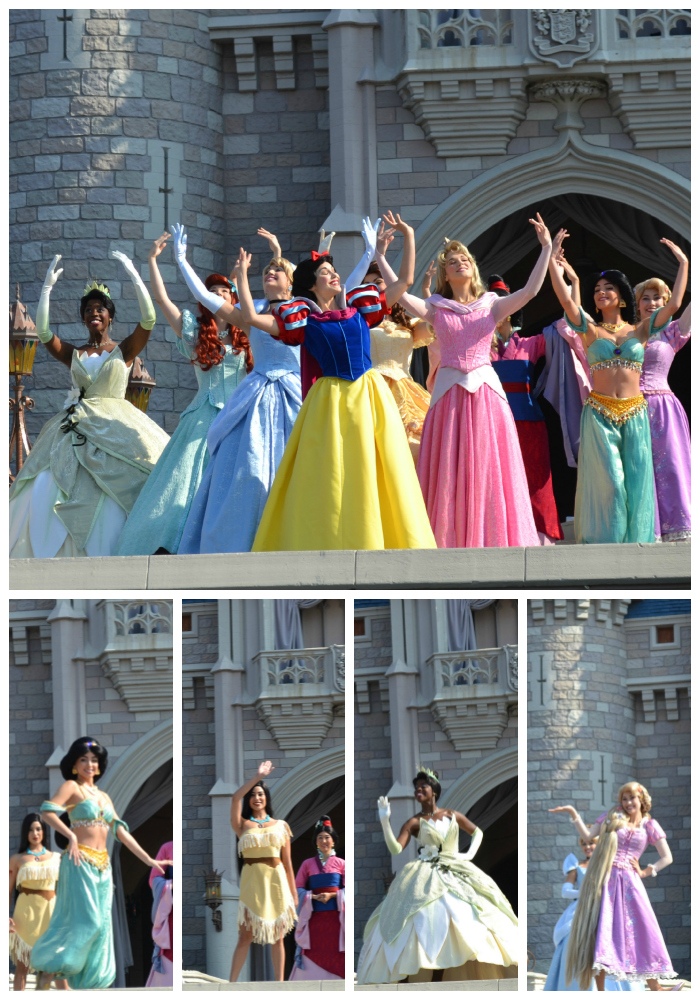 Disney Princesses at Merida's celebration