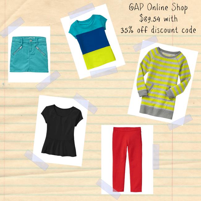 GAP online shop