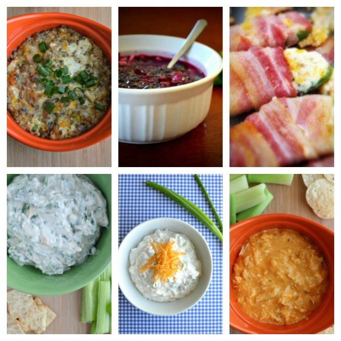 Holiday Appetizer Round Up - easy recipes for potlucks, parties and more!