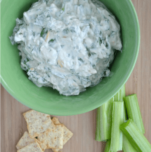 Easiest Spinach Dip Ever