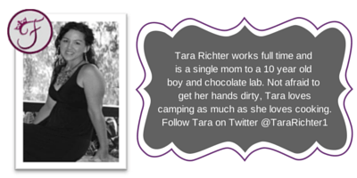 Tara Richter works full time and is a(2)