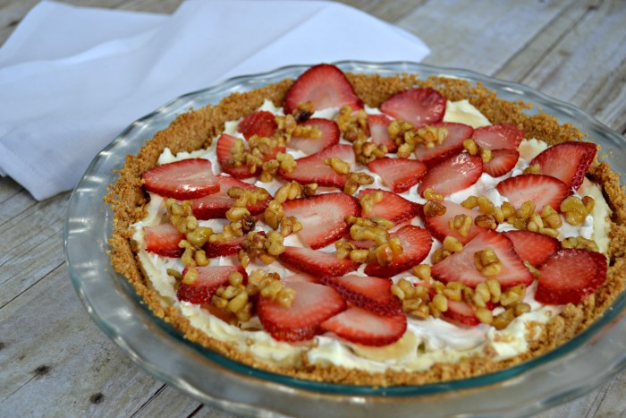 Banana Split Pie With Coconut Milk