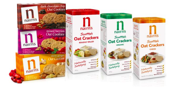 Nairn's Crackers and Cookies