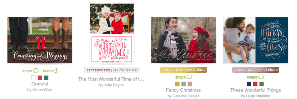 minted christmas cards - Fancy Christmas Cards