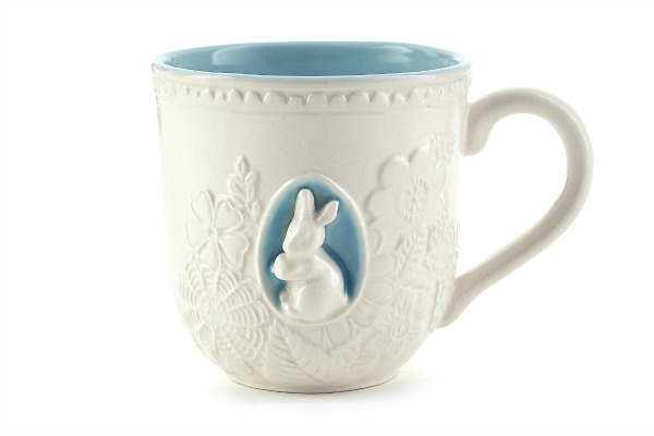 Embossed 15 oz. ceramic mug - $12.95 (1)
