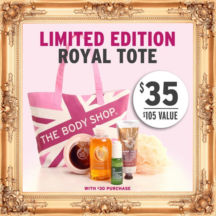 The Body Shop Mothers Day Tote