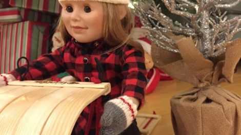 maplelea doll for the holidays