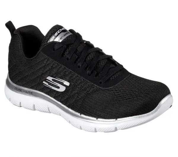 Have An Inquiring Mind Fabric Flyer Runner Trainers Womens Blk/charcoal Sneakers Sports Shoes Footwear Women's Shoes Athletic Shoes