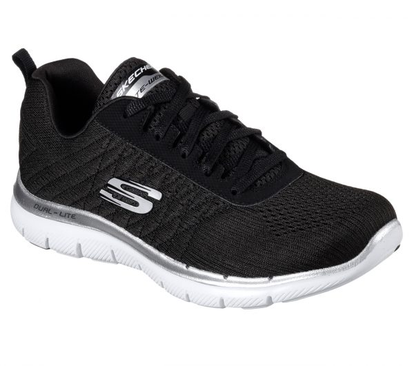"""67a1a745a869 These shoes feature """"Soft heathered jersey knit fabric upper in a lace up  athletic sporty training sneaker with stitching accents and Air Cooled  Memory Foam ..."""