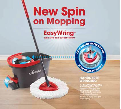 Spring Cleaning Made Easy With Vileda Easywring Feisty