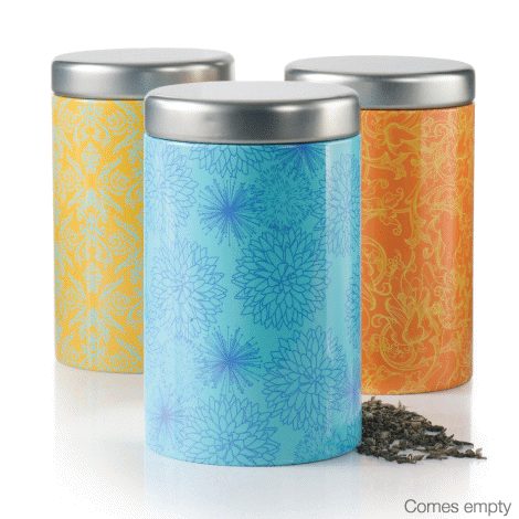 Avon tea tins