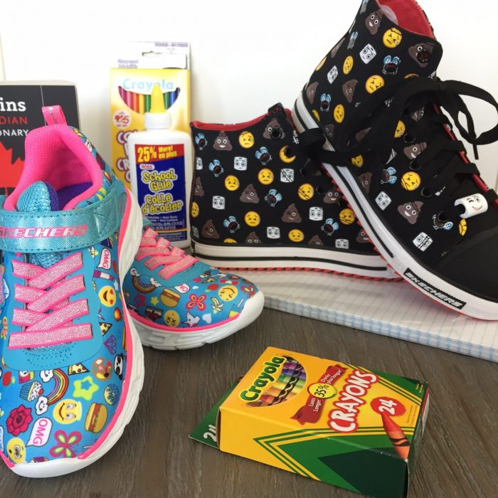 83807d737f58 All The Emoji Fun With Skechers – Feisty Frugal   Fabulous