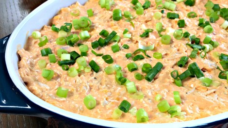 A deliciously creamy appetizer dip that will be your go-to for potlucks!